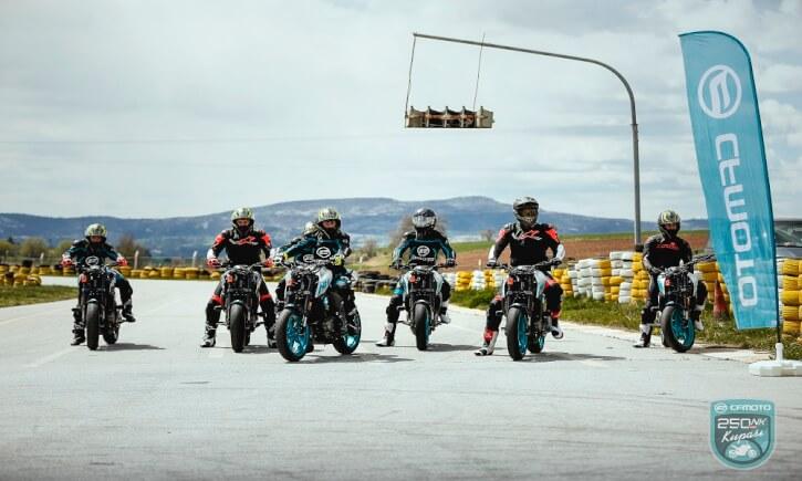 CF Moto 250 NK Kupası Yarışçıları Belli Oldu